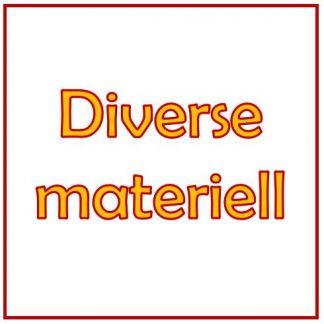 Diverse Materiell