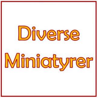 Diverse miniatyrer