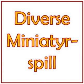Diverse miniatyrspill