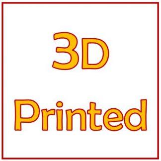3D-printed